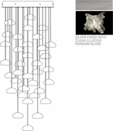 Fine Art Lamps 853440-102ST Natural Inspirations Contemporary Silver Halogen Multi Drop Ceiling Lighting
