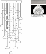 Fine Art Lamps 853440-107ST Natural Inspirations Contemporary Silver Halogen Multi Hanging Lamp