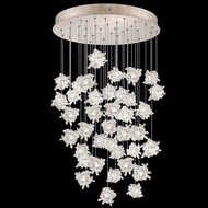 Fine Art Handcrafted Lighting 853440-202L Natural Inspirations LED Contemporary Gold LED Multi Drop Lighting