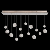 Fine Art Handcrafted Lighting 853740-205 Natural Inspirations Contemporary Gold LED Multi Hanging Light Fixture