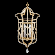 Fine Art Lamps 856640-2 Prussian Neoclassic Gold LED Entryway Light Fixture