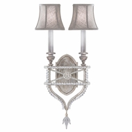 Fine Art Lamps 861650-11 Prussian Neoclassic Contemporary Silver LED Wall Lamp