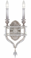 Fine Art Lamps 861650-12ST Prussian Neoclassic Prussian Silver Gray Wall Lamp