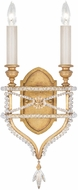 Fine Art Lamps 861650-22ST Prussian Neoclassic Brandenburg Gold Leaf Sconce Lighting