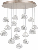 Fine Art Lamps 862840-207ST Natural Inspirations Contemporary Gold Halogen Multi Hanging Lamp