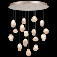 Fine Art Handcrafted Lighting 862840-24L Natural Inspirations LED Contemporary Gold LED Multi Hanging Light