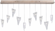 Fine Art Lamps 863240-208ST Natural Inspirations Modern Gold Halogen Multi Drop Ceiling Lighting
