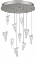 Fine Art Lamps 863540-108ST Natural Inspirations Modern Silver Halogen Multi Ceiling Pendant Light
