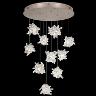 Fine Art Handcrafted Lighting 863540-202 Natural Inspirations Contemporary Gold LED Multi Pendant Lighting Fixture