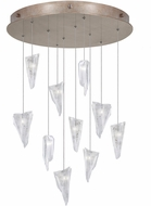 Fine Art Lamps 863540-208ST Natural Inspirations Modern Gold Halogen Multi Drop Lighting Fixture