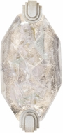 Fine Art Lamps 872650-1ST Allison Paladino Modern Silver Leaf LED Wall Mounted Lamp