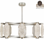 Fine Art Lamps 872840-31ST Allison Paladino Contemporary Bronze LED 42  Hanging Light