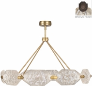Fine Art Lamps 873040-31ST Allison Paladino Contemporary Bronze LED 46.5  Hanging Light Fixture