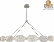 Fine Art Lamps 873140-21ST Allison Paladino Contemporary Gold LED 74  Drop Ceiling Lighting