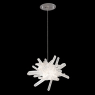 Fine Art Lamps 873840 Diamantina Silver LED Drop Ceiling Lighting