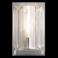 Fine Art Lamps 874950-1 Monceau Silver LED Wall Lighting