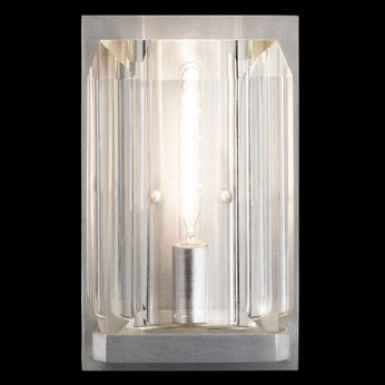 Fine Art Handcrafted Lighting 874950-1 Monceau Silver LED Wall Lighting
