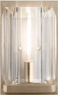 Fine Art Lamps 874950-2ST Monceau Soft Gold Leaf Wall Sconce Lighting