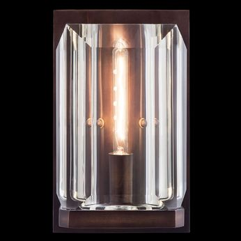 Fine Art Handcrafted Lighting 874950 Monceau Bronze LED Wall Lamp
