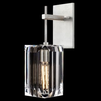 Fine Art Handcrafted Lighting 875050-1 Monceau Silver LED Lighting Sconce