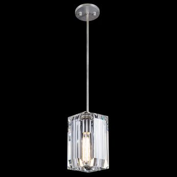 Fine Art Handcrafted Lighting 875440-1 Monceau Contemporary Silver LED Mini Ceiling Pendant Light