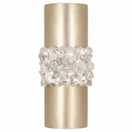 Fine Art Handcrafted Lighting 876650-1 Arctic Halo Gold LED Wall Light Fixture