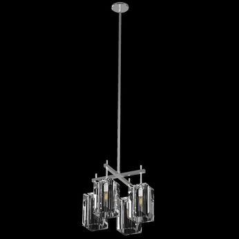 Fine Art Handcrafted Lighting 877340-1 Monceau Silver LED Mini Chandelier Light