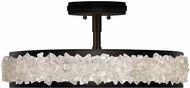 Fine Art Lamps 879940-2ST Arctic Halo Matte Black Ceiling Lighting Fixture