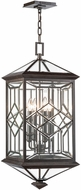 Fine Art Lamps 880481ST Oxfordshire Bronze Exterior Ceiling Pendant Light