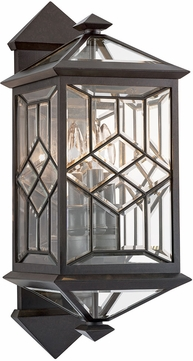 Fine Art Handcrafted Lighting 880981ST Oxfordshire Bronze Exterior 22.5 Lighting Wall Sconce