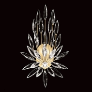 Fine Art Handcrafted Lighting 881850-1 Lily Buds Contemporary Gold LED Lighting Wall Sconce