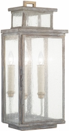 Fine Art Lamps 882081ST Wiltshire Traditional Weatered Grey Outdoor Wall Sconce