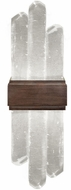 Fine Art Lamps 882150-3ST Lior Contemporary Bronze LED 14 Wall Sconce Light