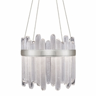 Fine Art Handcrafted Lighting 882240-1 Lior Contemporary Silver LED Drop Lighting