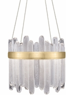 Fine Art Lamps 882240-2ST Lior Contemporary Gold LED Hanging Lamp