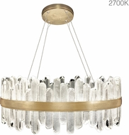 Fine Art Lamps 882340-21ST Lior Contemporary Gold LED Hanging Light Fixture