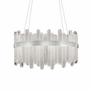 Fine Art Handcrafted Lighting 882540-1 Lior Contemporary Silver LED Drop Lighting
