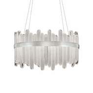 Fine Art Handcrafted Lighting 882540-11 Lior Contemporary Silver LED Drop Ceiling Lighting