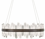 Fine Art Lamps 882640-3ST Lior Contemporary Bronze LED Hanging Light
