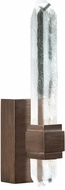 Fine Art Lamps 882650-3ST Lior Contemporary Bronze LED 14  Lighting Sconce