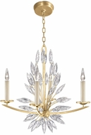 Fine Art Lamps 883440-1ST Lily Buds Gold Chandelier Lamp
