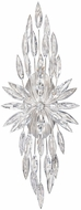 Fine Art Lamps 883550ST Lily Buds Silver Wall Sconce Lighting