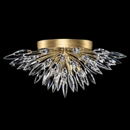 Fine Art Handcrafted Lighting 883640-1 Lily Buds Gold LED Ceiling Light Fixture
