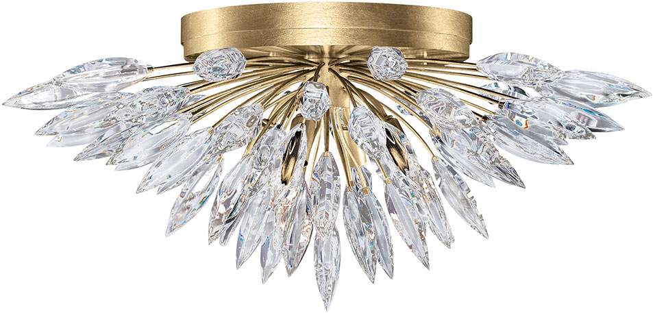 gold flush mount light entryway light fine art lamps 8836401st lily buds gold flush mount lighting loading zoom lighting fin