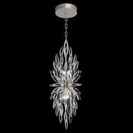 Fine Art Handcrafted Lighting 883740 Lily Buds Silver LED Pendant Lighting