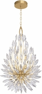 Fine Art Lamps 883840-1ST Lily Buds Gold Lighting Pendant