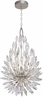 Fine Art Lamps 883840ST Lily Buds Silver Pendant Lamp