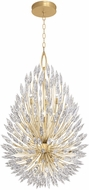 Fine Art Lamps 883940-1ST Lily Buds Gold Hanging Lamp