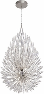 Fine Art Lamps 883940ST Lily Buds Silver Hanging Light