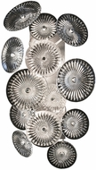 Fine Art Lamps 884750ST Chrysanthemums Silver LED Lighting Wall Sconce